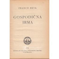 France Bevk - Gospodična Irma