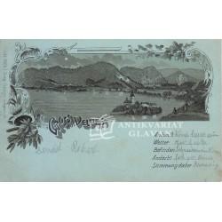 Bled - Gruss aus Veldes