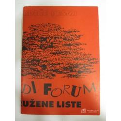 Rdeče pesmi: Mladi forum...